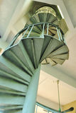 Curve of spiral stairs Royalty Free Stock Photos