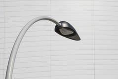 Curve Street lamp Stock Photo