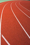 Curve in track Royalty Free Stock Image