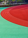 Curve in track Royalty Free Stock Images