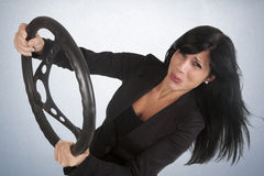 Curve woman Stock Photography