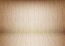 Curve wood wall texture background. Curved wooden wall texture background Stock Photography