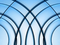 Curved Background 2. This is a color background graphic Royalty Free Stock Images