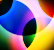 Curved Background. A background made out of curved colouful shapes Stock Photography