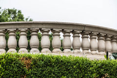Curved Balustrade Royalty Free Stock Photography