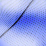 Curved Blue Page Stock Photo