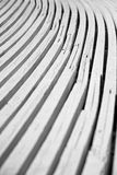 Curved boards Royalty Free Stock Photography