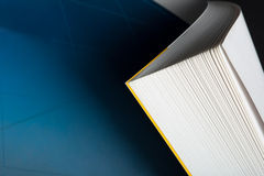 Curved book corner Royalty Free Stock Images