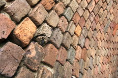 Curved Brick Wall Stock Photos