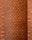 Curved Brickwork Stock Images