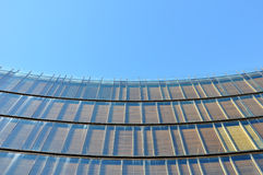 Curved building facade Stock Image