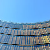 Curved building facade Royalty Free Stock Photography