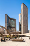 Curved building of the new City Hall in Toronto Stock Photography