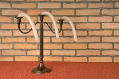 Curved candles Stock Photography