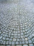 Curved Cobbles stock images