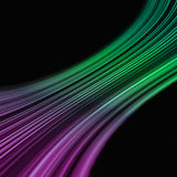 Curved colored stripes Royalty Free Stock Images