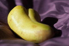 Curved erotic pear Royalty Free Stock Image