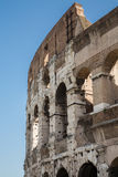 Curved Exterior of Coliseum Stock Photos