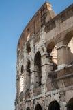 Curved Exterior of Coliseum Stock Photos