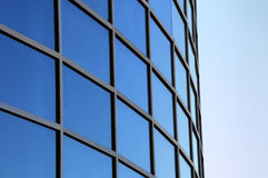 Free Curved Exterior Windows Of A Modern Building Stock Photos - 15956833