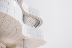 Curved facade Stock Image