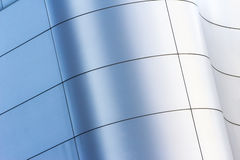 Curved facade building in City Royalty Free Stock Image