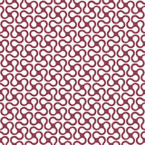 Curved geometric simple seamless pattern Stock Photography