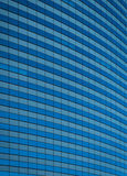 Curved Glass Skyscraper Stock Image