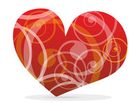 Curved heart Stock Photos