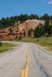 Curved Highway Stock Photography