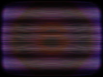 Curved interlaced tv screen illustration background Stock Image