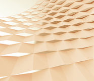 Curved Lattice Stock Image
