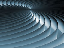 Curved Line Screen Stock Photography