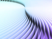 Curved Line Screen Royalty Free Stock Photo