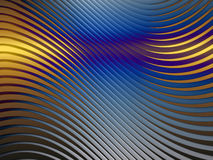 Curved Line Screen Stock Image