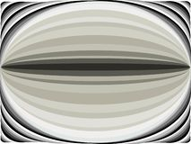 Curved lines background of black and gray color in abstract way in vector forming ovals royalty free illustration