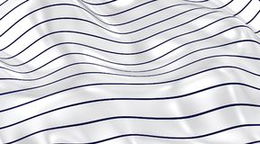 Curved lines on the horizont. Royalty Free Stock Photography