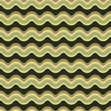 Curved Lines Pattern Seamless Vector Pattern. Wavy Stripes Texture vector illustration