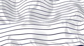 Curved lines on the white horizont. Dynamic image with curved lines with white background vector illustration
