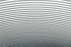 Curved metal sheet roof abstract Texture and background Stock Image