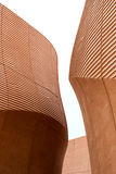 Curved modern architecture Royalty Free Stock Images