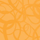Curved orange vector background Stock Photography