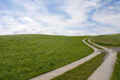 Curved path Stock Image