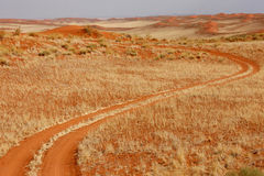 Curved path Stock Images