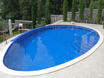 Curved pool foto 2. Royalty Free Stock Photos