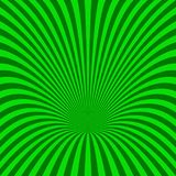 Curved radial stripe background - vector illustration from curved rays. Curved radial stripe background - vector illustration from green curved rays Stock Photo