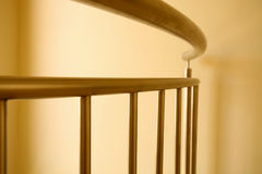 Curved Railing Stock Photo