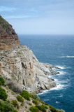 Curved Road Chapman's peak drive Royalty Free Stock Photography
