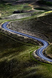 Curved Road Roadway Hills Hilly Royalty Free Stock Photography