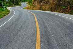 Curved road Royalty Free Stock Image